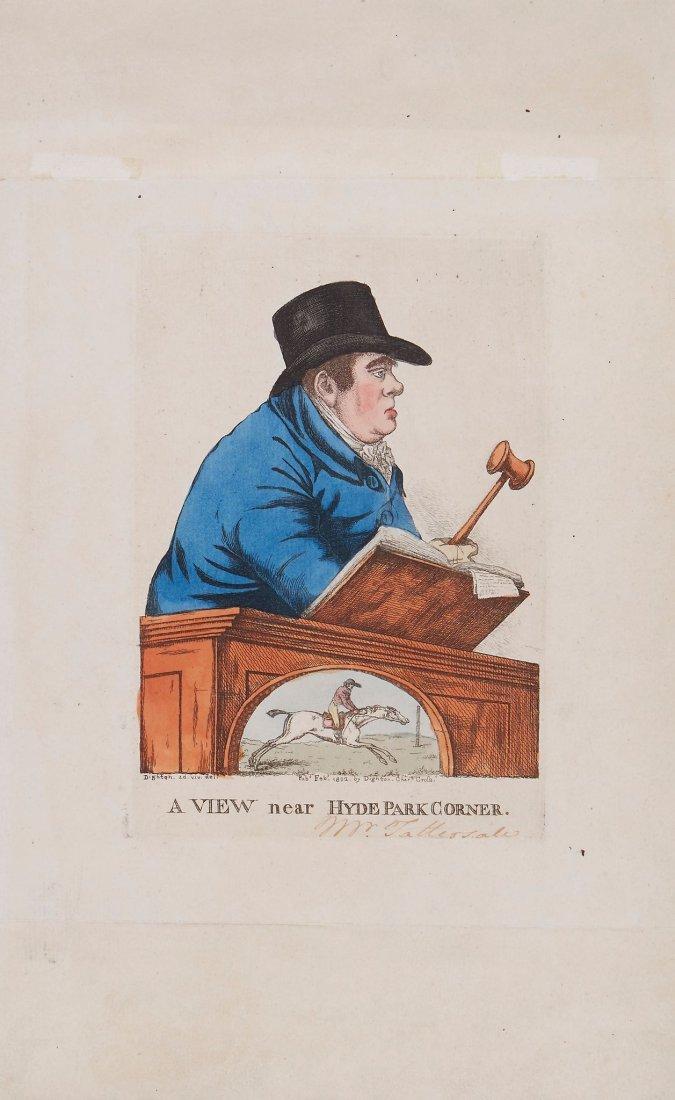 Robert Dighton (1752-1814) - A View Near Hyde Park