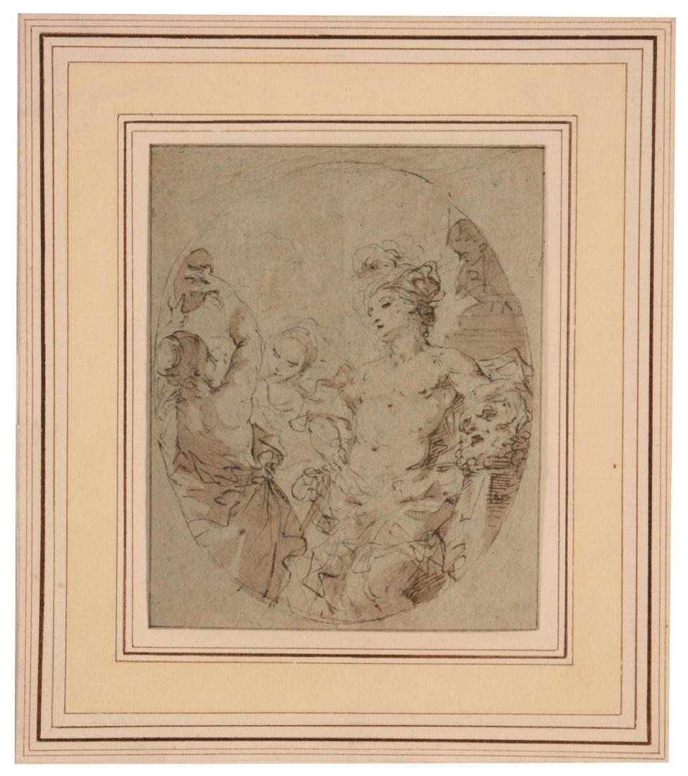 Attributed to Elisabetta Sirani (Italian1638-1665) -