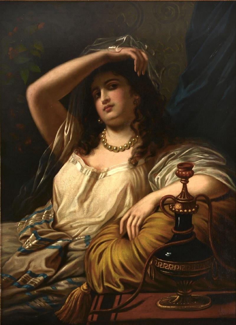 Follower of Théodore Jacques Ralli Reclining woman