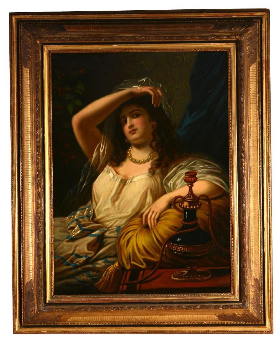 Follower of Théodore Jacques Ralli Reclining woman - 2