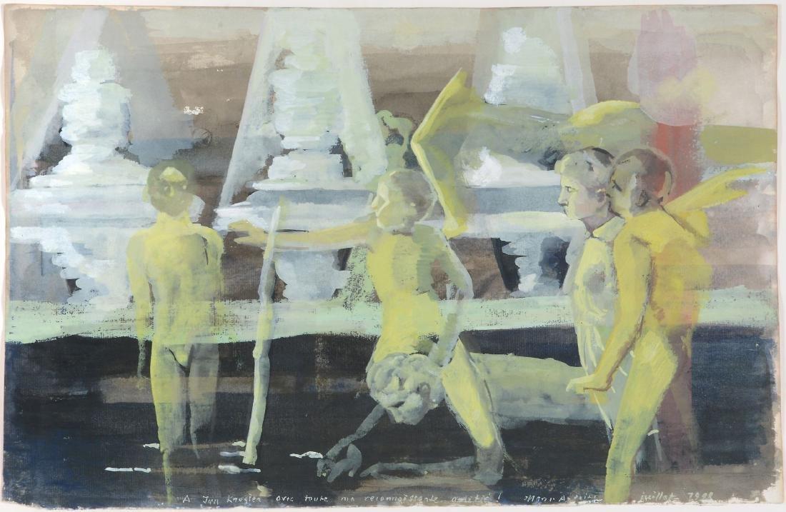 Marc-Antoine Fehr (Swiss, b. 1953) - Scène -