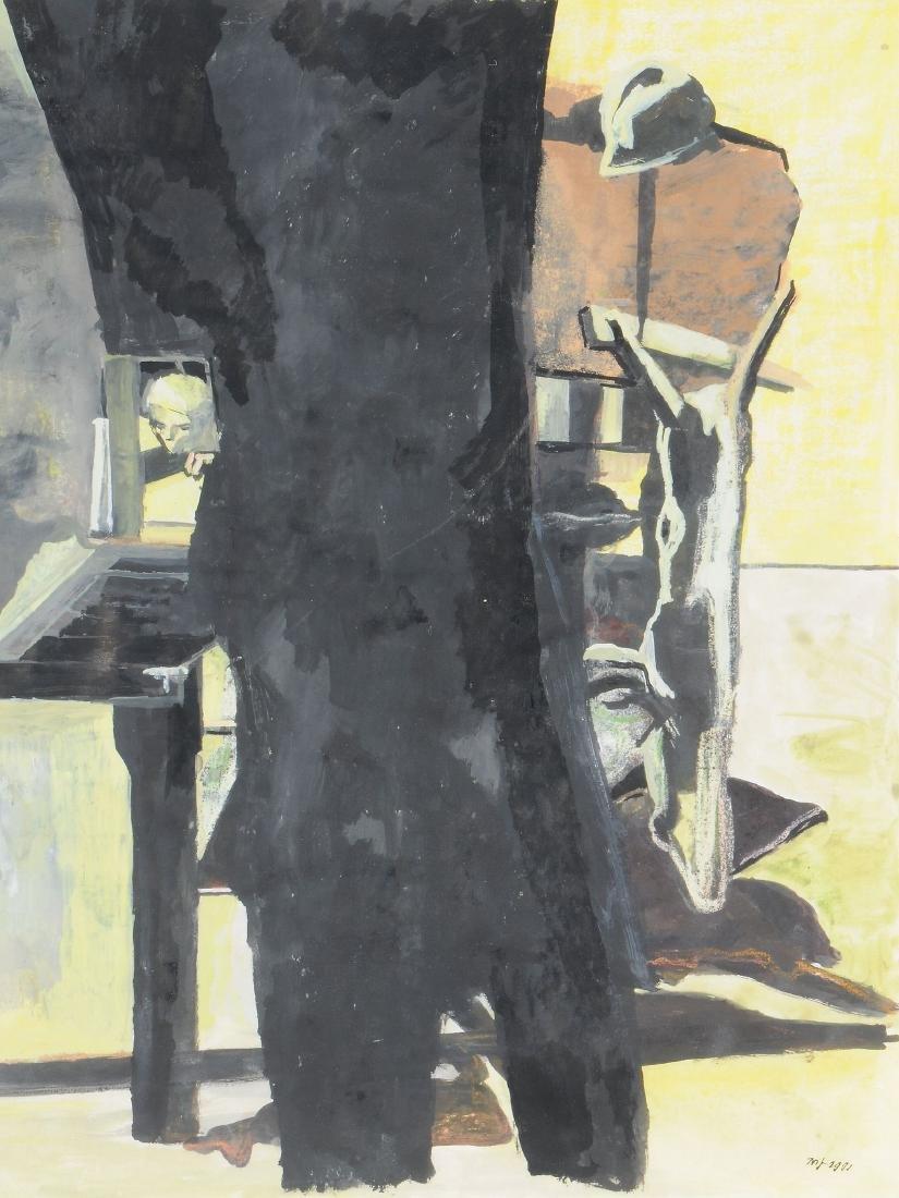 Marc-Antoine Fehr (Swiss, b. 1953) - Etude pour 'Projet