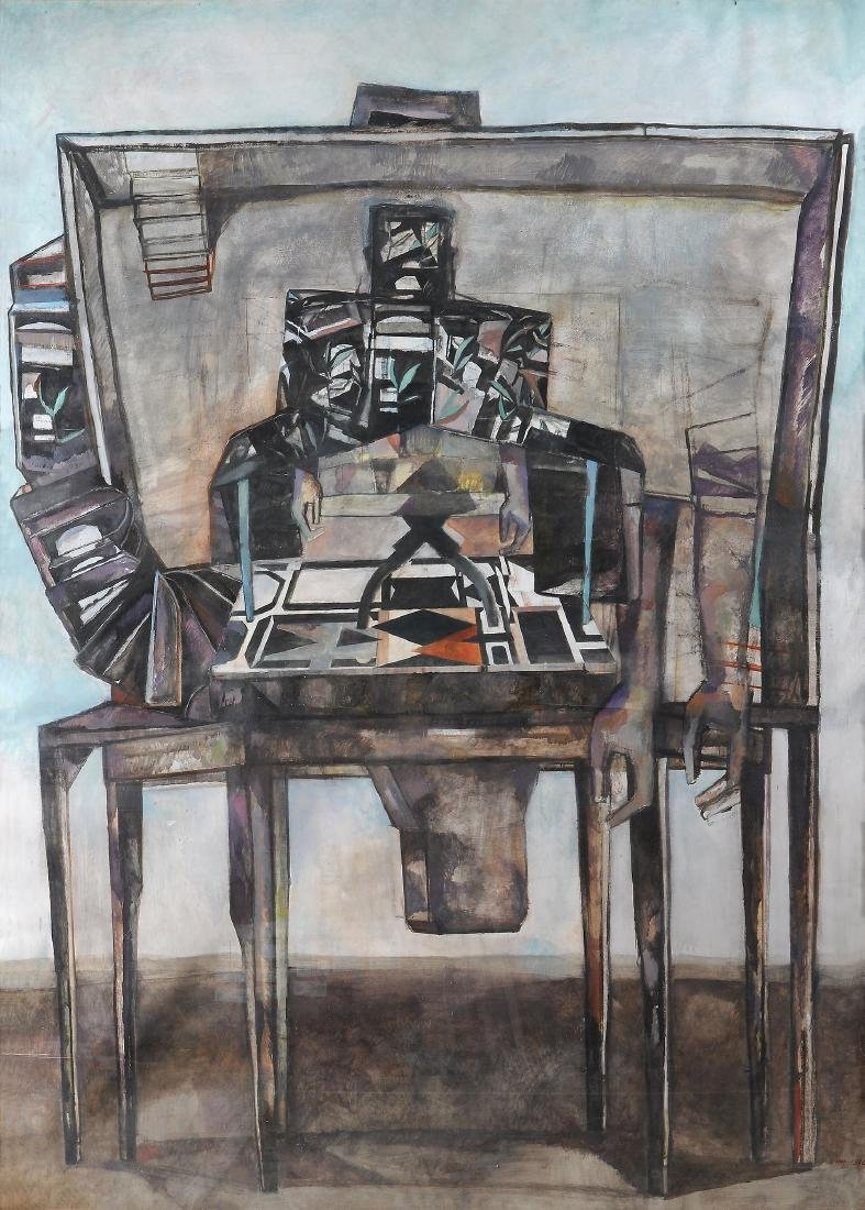 Marc-Antoine Fehr (Swiss, b. 1953) - Homme Tronc