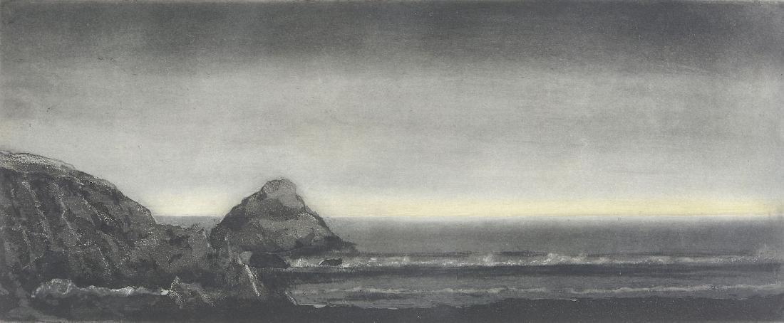 Marc-Antoine Fehr (Swiss, b. 1953) - La Pointe du Van