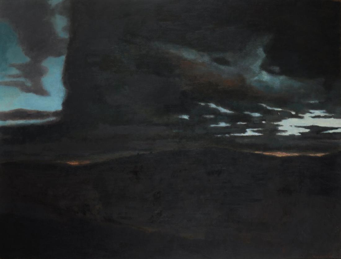 Marc-Antoine Fehr (Swiss, b. 1953) - Pressy, nuit, 2002
