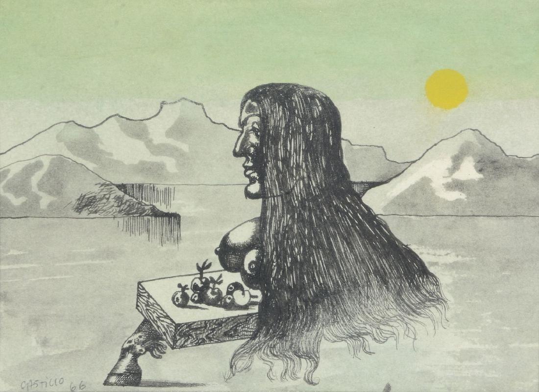 Jorge Castillo (Spanish, b. 1933) - Untitled (Woman in