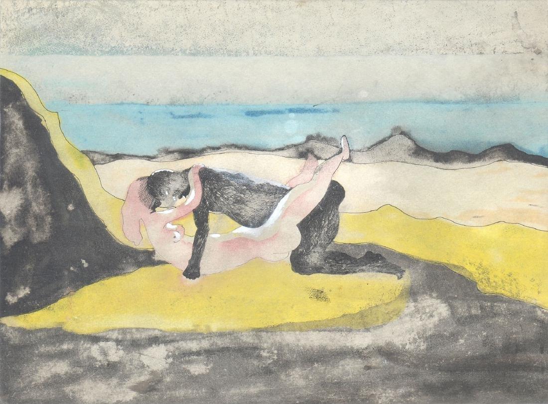 Jorge Castillo (Spanish, b. 1933) - Pareje