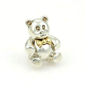 Tiffany & Co. Vintage 18k Yellow Gold & 925 Silver Bear