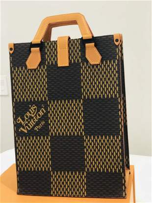Louis Vuitton x Nigo Tote Damier Ebene Giant Mini B