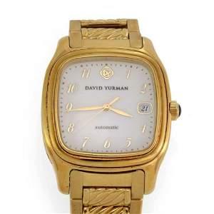David YurmanThoroughbred 18k Yellow Gold Automatic Date