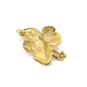 Tiffany & Co. Vintage Maple Leaf Brooch in 18k Yellow