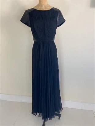 Pamela rolland chiffon gown