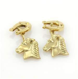 Tiffany & Co. 18k Yellow Gold Horse & Shoe Chain