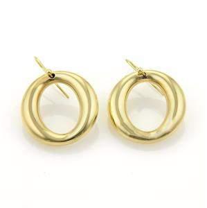 Tiffany & Co. Peretti Sevillana 18k Yellow Gold Hook