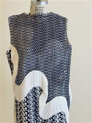 Stella Mccartney fringed dress size 42