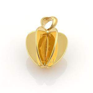 Cartier Double C 18k Yellow Gold 3D Spinner Apple