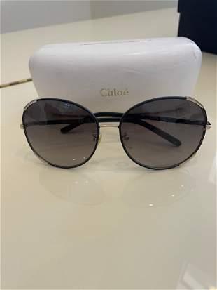 Chloe oversized Gradient sunglasses