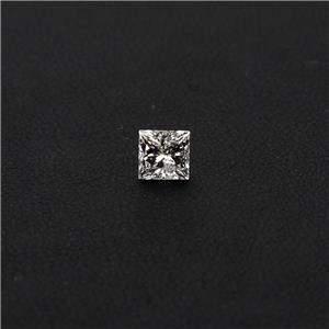 Estate 0.67ct Natural Princess Cut Loose Diamond