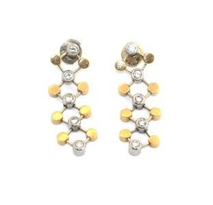 Tiffany & Co. Picasso Diamond 18k Yellow Gold Platinum