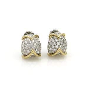 Tiffany & Co. 1.50ct Diamond Platinum 18k Yellow Gold