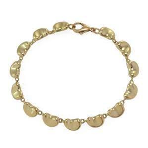 Tiffany & Co. Peretti 18k Yellow Gold 14 Bean Link