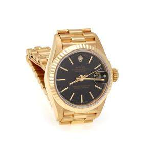 Rolex Oyster 18k Yellow Gold Date Just Automatic Ladies