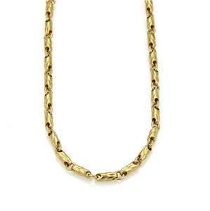 Bvlgari Bulgari 18k Yellow Gold 3.5mm Fancy Link Chain