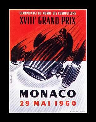 RENE LORENZO ** MONACO GRAND PRIX 1960
