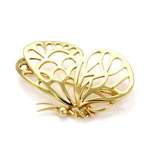 Tiffany & Co. Vintage 18k Yellow Gold Butterfly