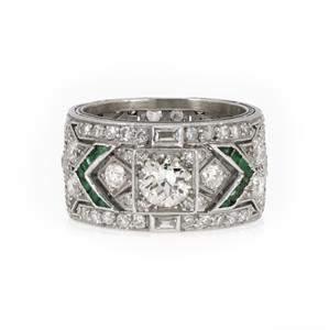 Art Deco Platinum 3.35ct European Old Mine Cut Diamond