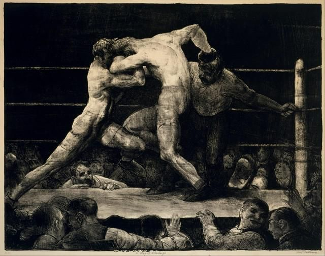 GEORGE BELLOWS ** A STAG AT SHARKEY'S **