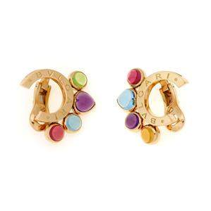 Bvlgari Bulgari Allegra 8ct Multicolor Gems 18k Gold