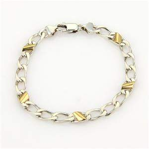 Tiffany & Co. Vintage 925 Silver & 18k Yellow Gold