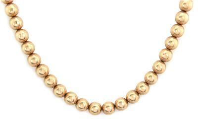 Tiffany & Co. Vintage 14k Yellow Gold 8.5mm Bead