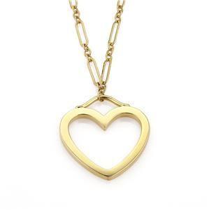Tiffany & Co. 18k Yellow Gold Sentimental Large Heart