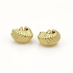 Tiffany & Co. Cordis 18k Yellow Gold Fancy Grooved