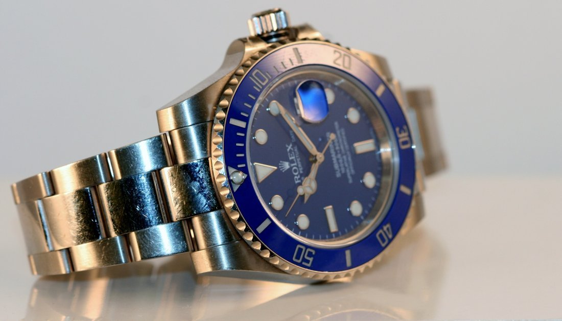 Rolex Gents 18k White Gold Submariner.