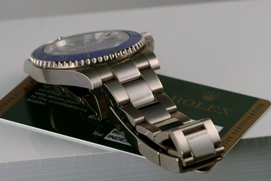 Rolex Gents 18k White Gold Submariner. - 5