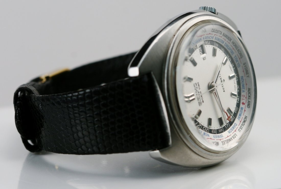 12: Gents Seiko Stainless - World Time