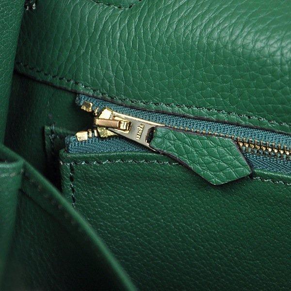 Dark Green Hermes Kelly Bag - 4