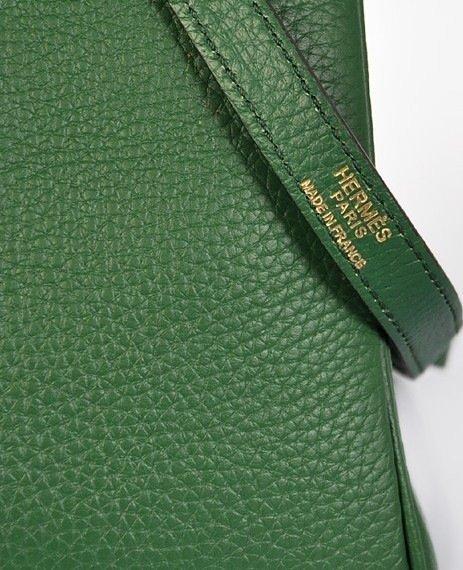 Dark Green Hermes Kelly Bag - 5