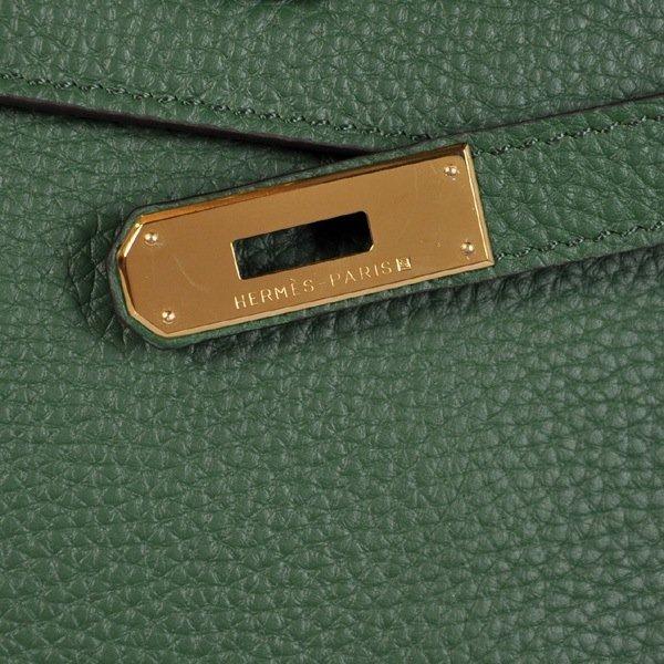 Dark Green Hermes Kelly Bag - 7