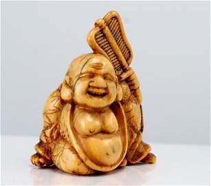 Antique Buddha Netsuke