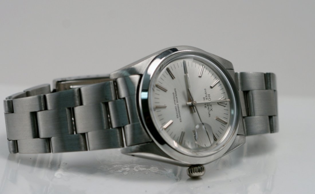 ROLEX GENTS STAINLESS STEEL