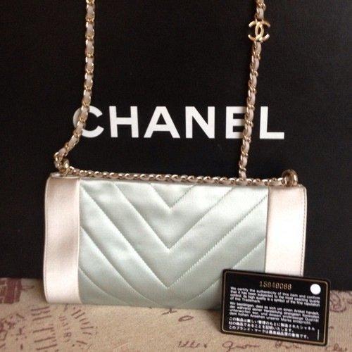RARE Chanel Satin Evening Handbag