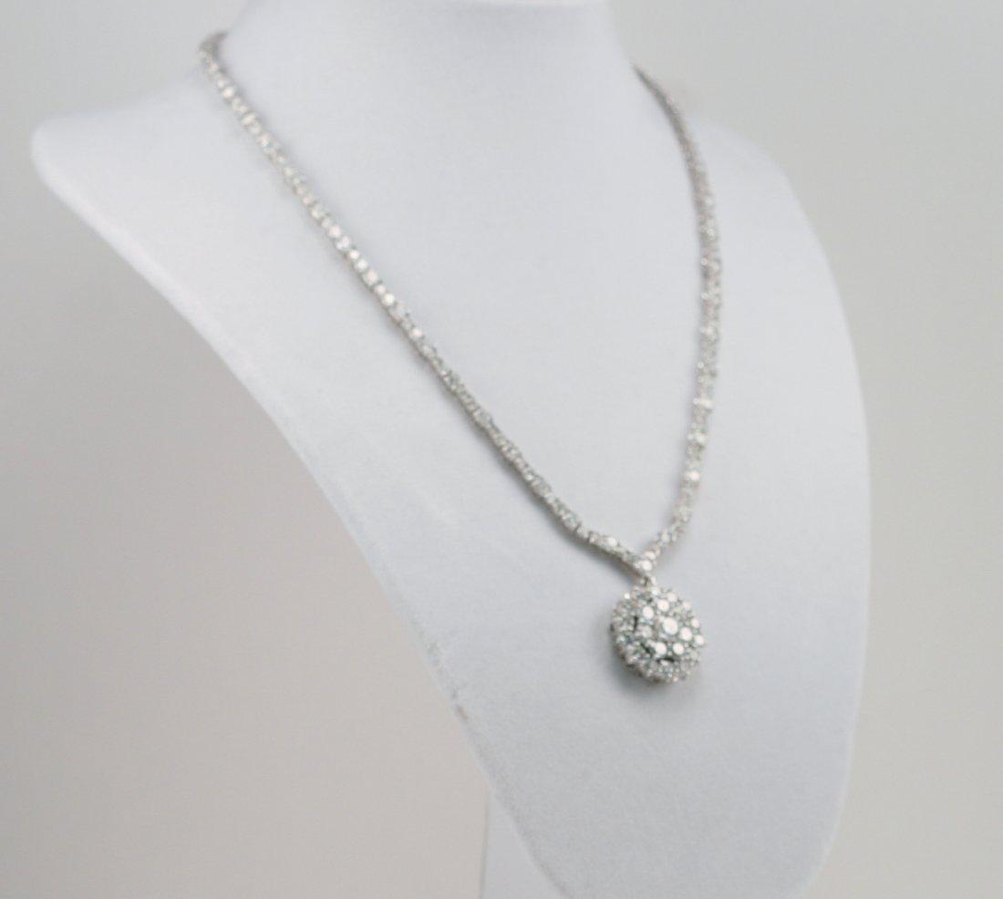 18.48 CARATS DIAMOND NECKLACE.