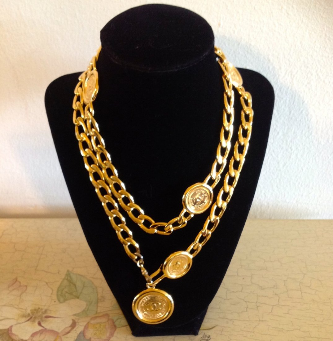 CHANEL COIN NECKLACE/BELT