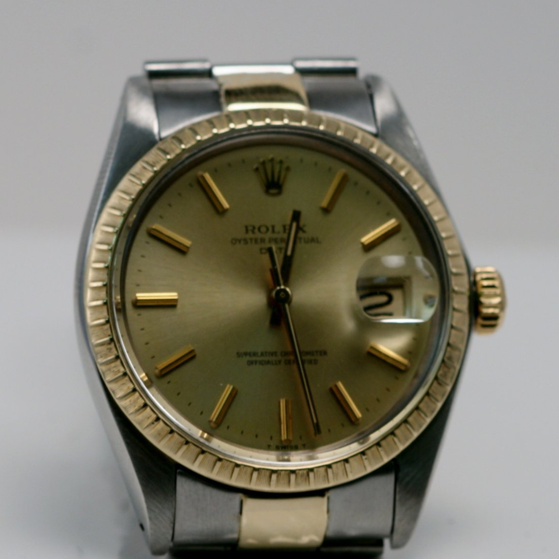 ROLEX MEN'S 2TONE WATCH