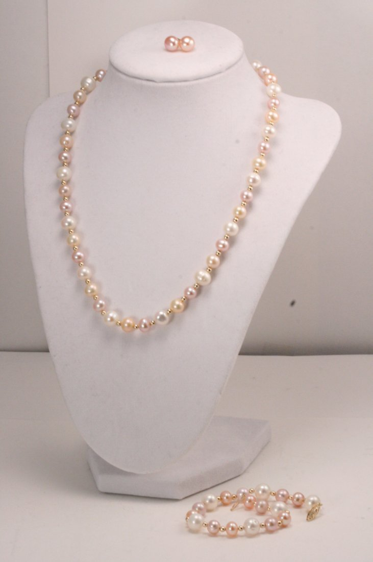3 PIECE PEARL SET