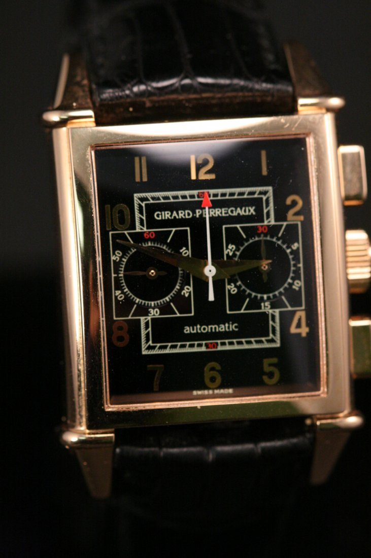 GIRARD PERREGAUT ROSE GOLD WATCH